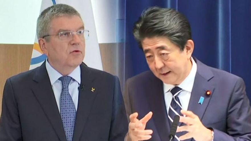 """IOC, 도쿄올림픽 내년 연기 결정""""…아베와 전화 논의 : 뉴스줌"""